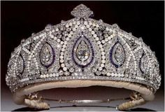 The Cartier Indian Tiara (British) Originally owned by Princess Marie Loise, granddaughter of Queeen Victoria. She was married to German Prince Aribert of Anhalt for 9 years and her marriage was annulled by her father in law without her knowledge. Her family ordered her home and there she stayed.