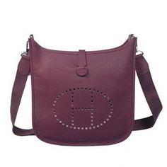 1a16696e8155 Wholesale Réplique Hermes Evelyne Messenger Bag H1608 Violet - €213.43    réplique sac a main, sac a main pas cher, sac de marque   sac hermes  evelyne pas ...