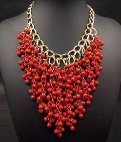 Beaded bib necklace wholesale