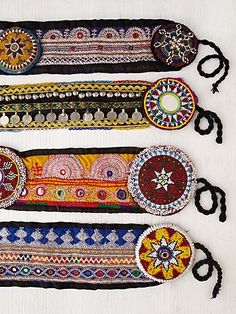 Lotus Tapestry Belt @Free People #boho