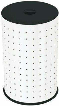 Hailo Wäsche-Behälter Comfort 43, weiß / schwarz