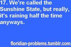 Floridian Problems.