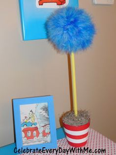 A Dr. Seuss Party – Decorations | Celebrate Every Day With Me