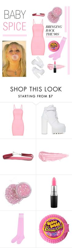 BABY SPICE HALLOWEEN COSTUME by a-le-mode on Polyvore featuring Jeffrey Campbell, By Terry, MAC Cosmetics, Halloween, chic and fashionset