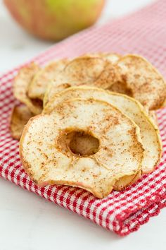These oven-baked dried apple rings are soft and chewy--almost like candy! They're made without any added sugar too.