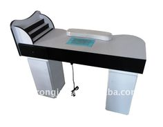 The hot sell manicure table/nail table/nail desk/manicure desk Nail Spot, Nail Desk, Nail Station, Salon Furniture, Craft Corner, Salon Ideas, Beauty Bar, Manicure And Pedicure, Nail Salons