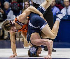 Penn State wrestling rebounds, defeats Rutgers 1-16-2015