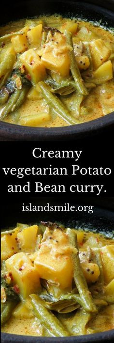 Creamy potato bean curry yet another vegetarian dish you can use creamy potato and bean curry yet another vegetarian dish you can use for your sri forumfinder Image collections
