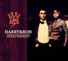 harry & ron.
