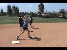 Infield Drill: Double Play from SS & 2nd: Quick Hands: Softball - YouTube
