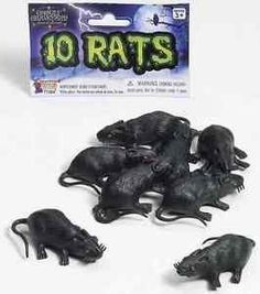 Rats Black Plastic Prop Haunted House Carnival Halloween Party Favor Decoration >>> Click image for more details.