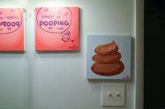 Best bathroom decorations ever!
