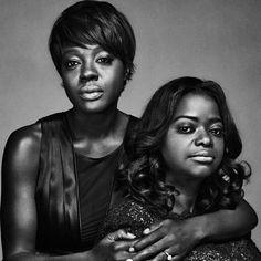 Viola Davis & Octavia Spencer Divas, Black Actresses, Actors & Actresses, Black Actors, Black Girls Rock, Black Girl Magic, American Women, Carolina Do Sul, Octavia Spencer
