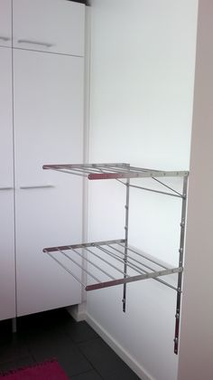 pyykinkuivaus kodinhoitohuoneessa - Google-haku Bathroom, Decor, Furniture, Toilet, Home, Shelves, Storage, Cabinet, Home Decor
