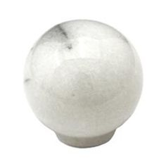 1 in. This white marble cabinet knob with small sphere design from Cal Crystal is a perfect blend of craftmanship and a beautiful swirl mix of color as found in everything marble to complement Kitchen Cabinet Pulls, Cabinet Knobs, Cabinet Hardware, Bathroom Wall Sconces, Modern Farmhouse Bathroom, Window Hardware, Crystal Collection, Bath Accessories, Kitchen And Bath
