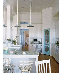 Check out the screen door for that is used as a pantry door!  Too cool!