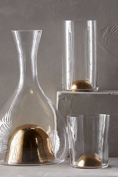 Sculptors Glassware - anthropologie.com