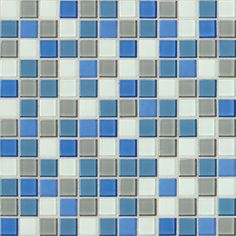 Daltile, Isis, Polo Blue Blend IS30