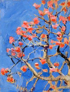 Coral Tree in Blossom, Akseli Gallen-Kallela, Finnish National Gallery / Ateneum Art Museum, Helsinki, Art Society, Poster Prints, Art Prints, Posters, A Level Art, Canadian Art, Still Life Art, Landscape Art, Japanese Art