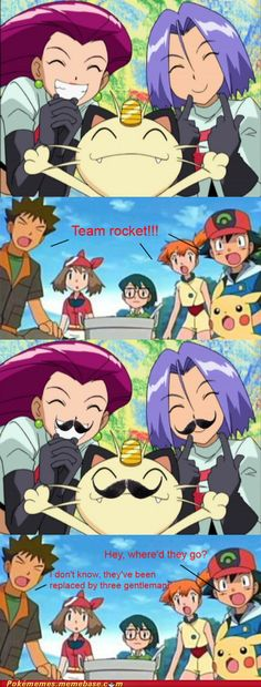 Gentlemen, have you seen team rocket?!