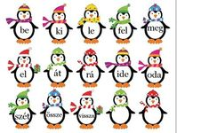Játékos tanulás és kreativitás: Igekötők gyakorlása játékosan Penguin Birthday, Bulletin Board Letters, Birthday Charts, Dysgraphia, Grammar, Children, Kids, Literature, Homeschool
