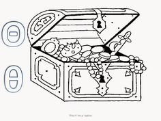 Pirate Treasure Chest Coloring Page Sketch Coloring Page Pirate Birthday, Pirate Theme, Pirate Photo, Pirate Treasure Chest, Learn Greek, Mermaid Coloring Pages, Kids Zone, Perler Bead Art, Teacher Gifts