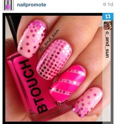 No link just cute nail idea credit in image