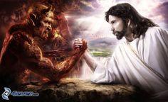 Jesus vs Satan, Kampf, Gute und Böse