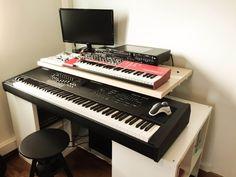 Image result for studio music composer desk setup