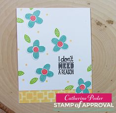 The Perfect Reason Stamp of Approval www.cpstampofapproval.com