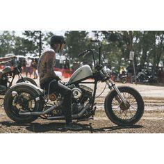 Custom Harleys, Custom Bikes, Old School Chopper, Harley Davidson Chopper, Bobber Chopper, Biker Style, Bobbers, Choppers, Shovel