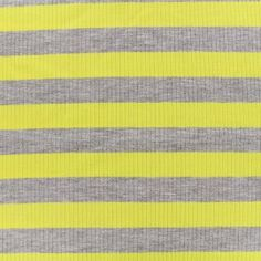 Tissu jersey maille marcel Rayures 23 mm - gris/jaune x 10cm Marcel, Gray Yellow, Dress Making, Stripes, Fabrics, Fishing Line