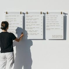 Hanging Menu Board – George and Willy Cafe Signage, Outdoor Signage, Coffee Shop Signage, Coffee Shop Menu, Bakers Menu, Goats Curd, How To Make Magnets, Magnetic Letters, Signwriting
