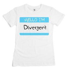 Hello I'm Divergent Tee — Kollage