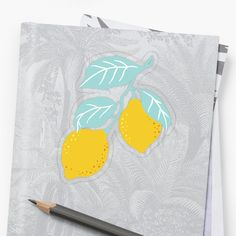 """Sour Lemon Citrus All Over Print Design"" Sticker by Drugaya Sell Your Art, Sticker Design, Print Design, Lemon, It Is Finished, Stickers, Artist, Prints, Blue"