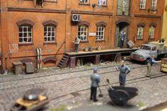 Dioramen Hartmut Stöver - Eisenbahn und Industrie   Modellbahn