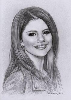 Selena Gomez - dessin