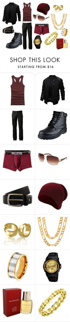 """""""Chase 201"""" by vipersden on Polyvore featuring Urban Pipeline, Hollister Co., GUESS, Renato Balestra, True Religion, Bling Jewelry, Sterling Essentials, West Coast Jewelry, Casio and Burberry"""