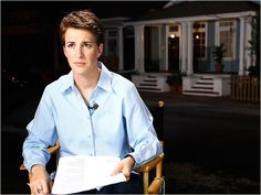 Rachel Maddow- I dig everything about this picture.