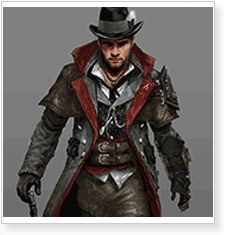 Assassin's Creed Syndicate Jacob Frye Master Assassin Outfit Cosplay Costumes…