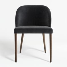 Camille Anthracite Italian Dining Chair at Crate and Barrel Canada. Discover unique furniture and decor from across the globe to create a look you love. Tufted Dining Chairs, Modern Dining Chairs, Kitchen Chairs, Room Chairs, Bar Kitchen, Small Dining Room Furniture, Unique Furniture, Dining Rooms, Kitchen Furniture