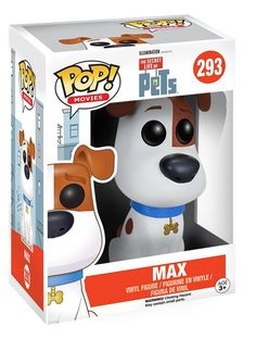 Bring home all your favorite characters from the Secret Life of Pets with this new Funko POP Vinyl Figure assortment! Fans will be excited to own this 3 3/4-inch tall vinyl figure featuring Max the do