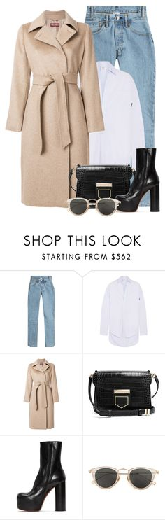 """Amazing things happen when you distance yourself from negativity."" by aanchal-w ❤ liked on Polyvore featuring Vetements, MaxMara, Givenchy, Issey Miyake and polyvoreeditorial"