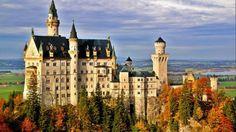 Castelo Neuschwanstein, na Alemanha, que inspirou a Disney
