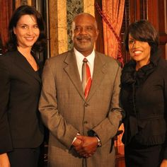 BCRP Director sworn in. Deputy Chief Kaliope Parthemos on the left, Mayor Stephanie Rawlings-Blake on the right.