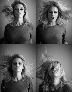 Alex Polillo's guide to achieving perfectly tousled hair on actress Alice Eve