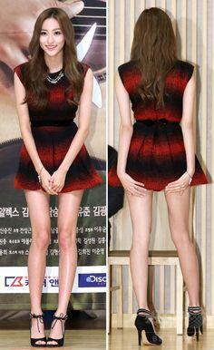 韓国・ソウル(Seoul)で行われた、ドラマ「僕にはかわいすぎる彼女」の制作発表会に臨む、ガールズグループ「BESTie(ベスティ)」のヘリョン(Hae Ryeong、2014年9月15日撮影)。(c)STARNEWS ▼18Sep2014AFP ピ主演の新ドラマ「僕にはかわいすぎる彼女」、ソウルで制作発表会 http://www.afpbb.com/articles/-/3026129 #BESTie_Hae_Ryeong