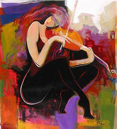 Painting by Irene Sheri | Irene Sheri About Love Painting