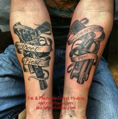 Star Wars & Blade Runner Tattoos...I can see my man with some version of these... ;o)