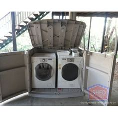 Outdoor Laundry Enclosure Garden Shed Outdoor Laundry
